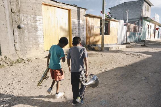 Escuela de música en un basurero de Oaxaca 5