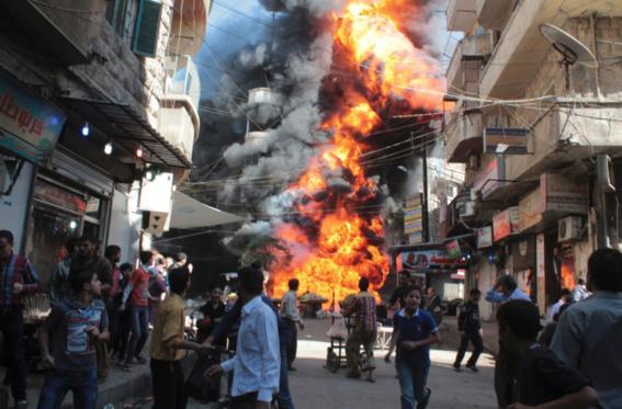 fotografias de la guerra en siria 1