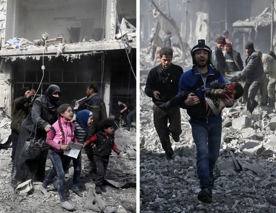 fotografias de la guerra en siria 2