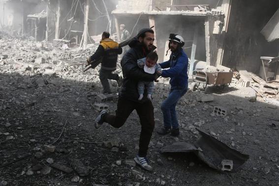 fotografias de la guerra en siria 11