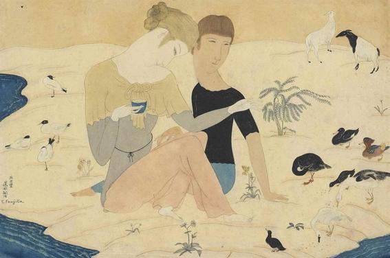 tsuguharu foujita bohemian painter 2