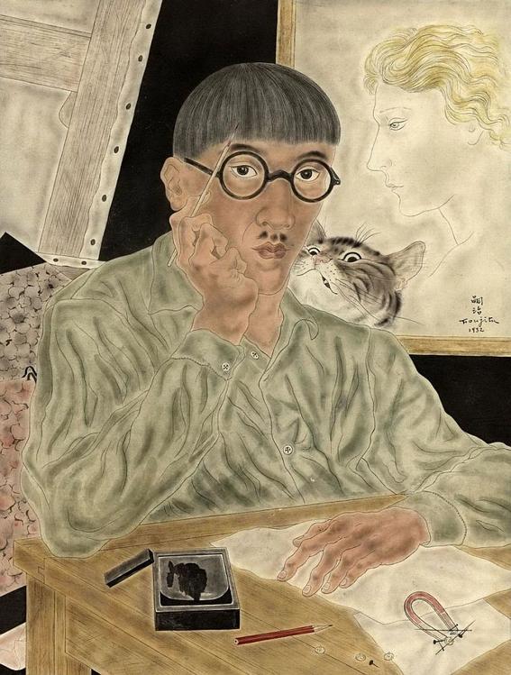 tsuguharu foujita bohemian painter 5
