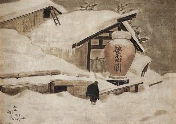 tsuguharu foujita bohemian painter 6