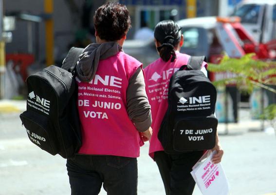 mexicanos no participan en elecciones 2