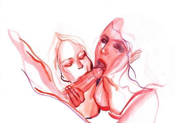 ilustraciones de watercolor porn 3