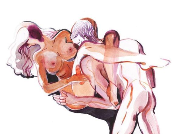 ilustraciones de watercolor porn 4