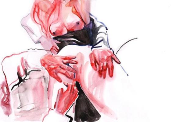 ilustraciones de watercolor porn 10