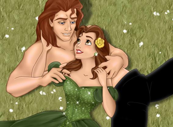 perversas ilustraciones de las princesas de disney 9