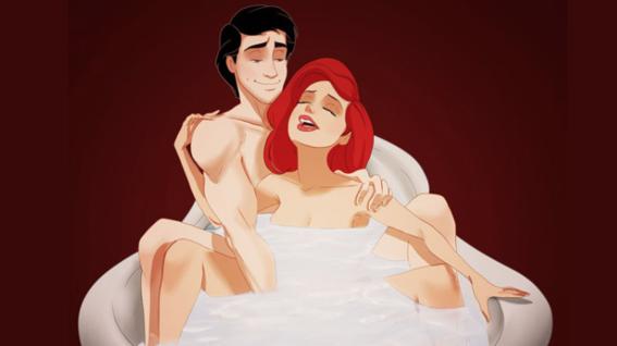 perversas ilustraciones de las princesas de disney 11