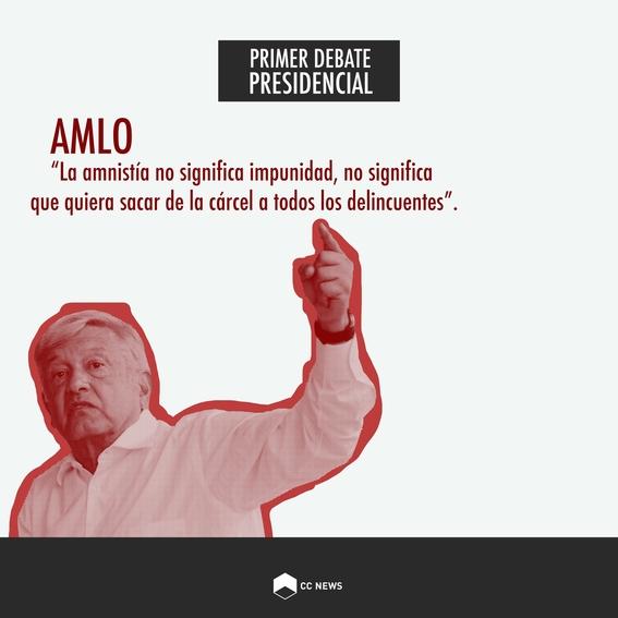 andres manuel lopez obrador primer debate presidencial elecciones 2018 3