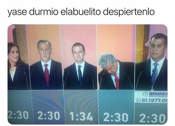 memes del debate presidencial 4