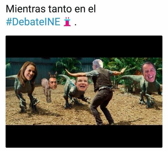 memes del debate presidencial 1