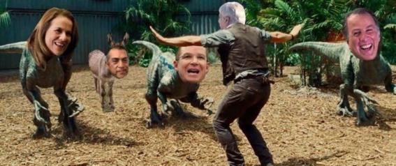 memes del primer debate presidencial en mexico 1