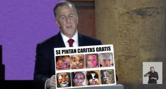 memes del primer debate presidencial en mexico 8