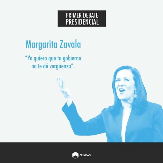 margarita zavala debate presidencial elecciones 2018 4