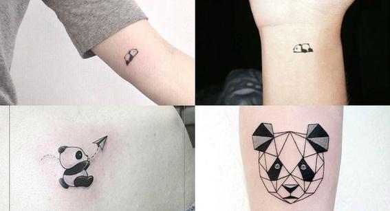 tatuajes de oso panda 1