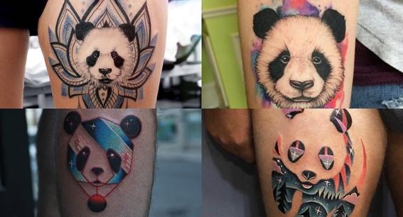 tatuajes de oso panda 2