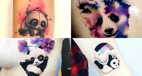 tatuajes de oso panda 3