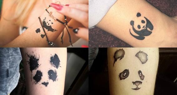 tatuajes de oso panda 5