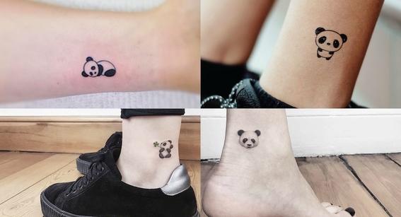 tatuajes de oso panda 6