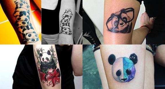 tatuajes de oso panda 7