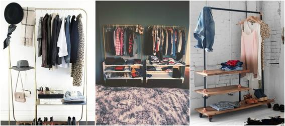 open closet ideas 5