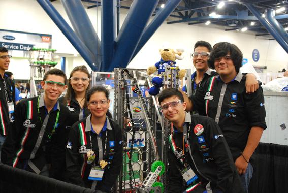 por primera vez mexico llega a semifinales en mundial de robotica first 1