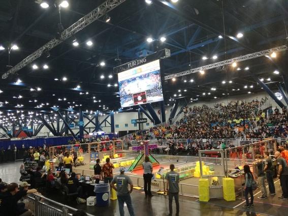 por primera vez mexico llega a semifinales en mundial de robotica first 3