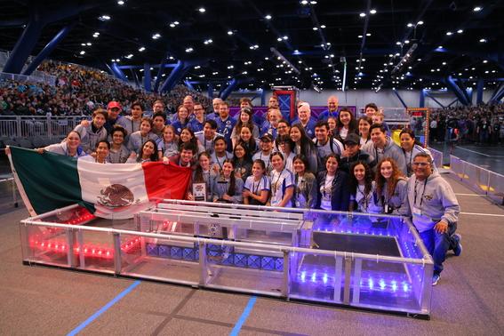 por primera vez mexico llega a semifinales en mundial de robotica first 4