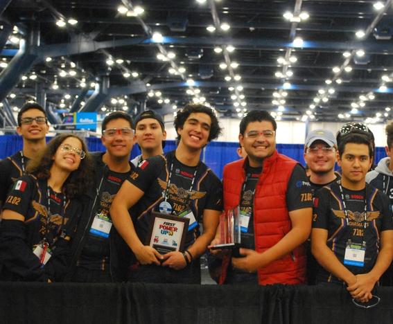 por primera vez mexico llega a semifinales en mundial de robotica first 5