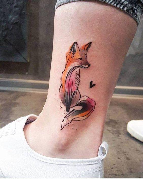 tatuajes para el tobillo 4