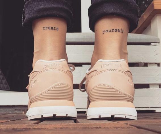 tatuajes para el tobillo 7