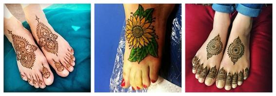 tatuajes en el empeine 1