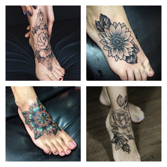 tatuajes en el empeine 6
