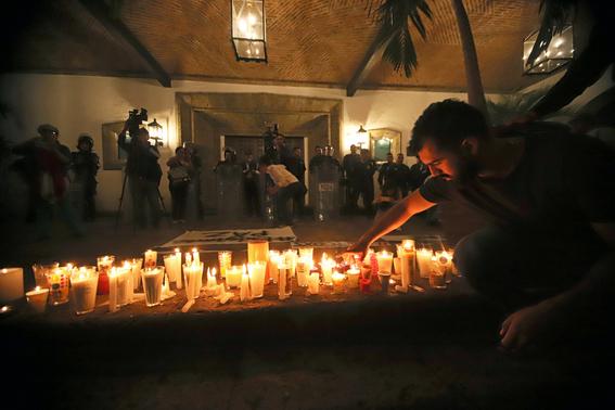 marchas por tres estudiantes asesinados 2