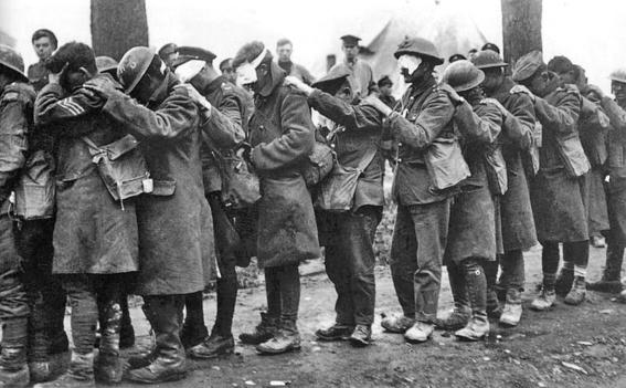 gas masks photos chemical warfare horror 4