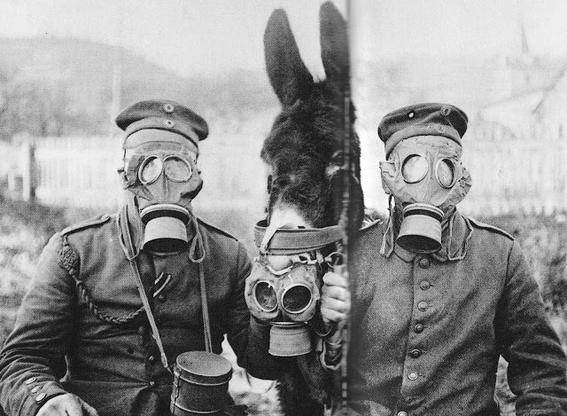 gas masks photos chemical warfare horror 14