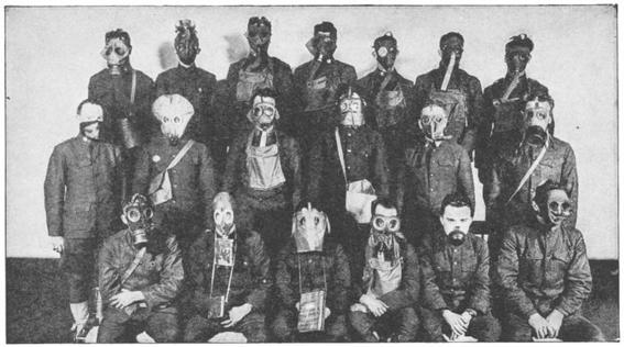 gas masks photos chemical warfare horror 8