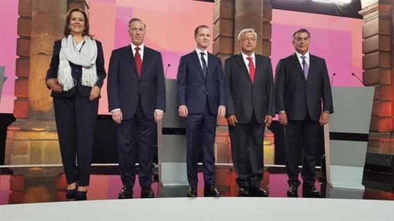 raiting del primer debate presidencial 1