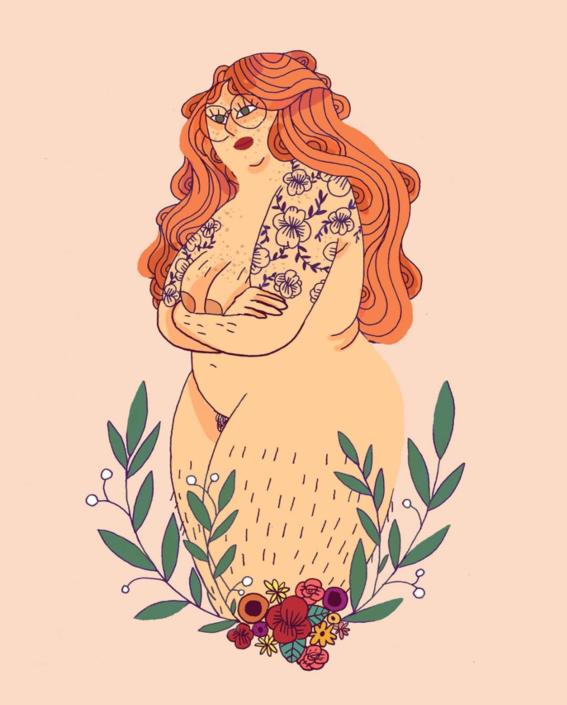 marie boiseau illustrations body positive 16