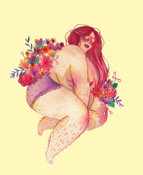 marie boiseau illustrations body positive 10