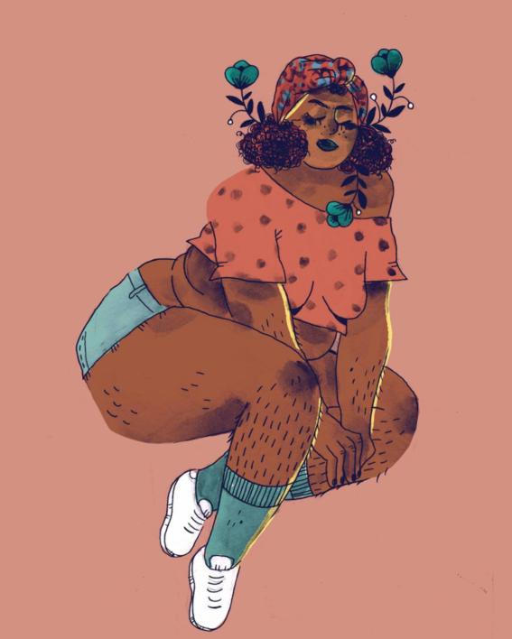 marie boiseau illustrations body positive 15