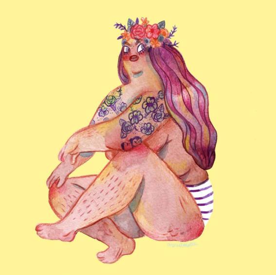 marie boiseau illustrations body positive 12