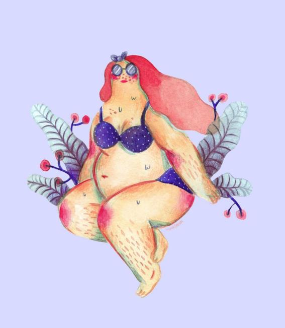marie boiseau illustrations body positive 7