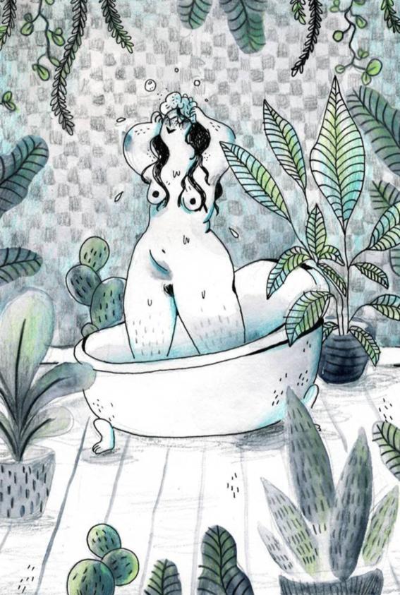 marie boiseau illustrations body positive 8