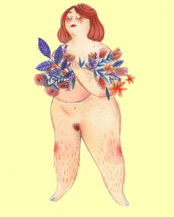 marie boiseau illustrations body positive 6