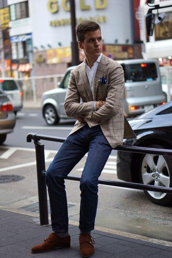saco con jeans 4