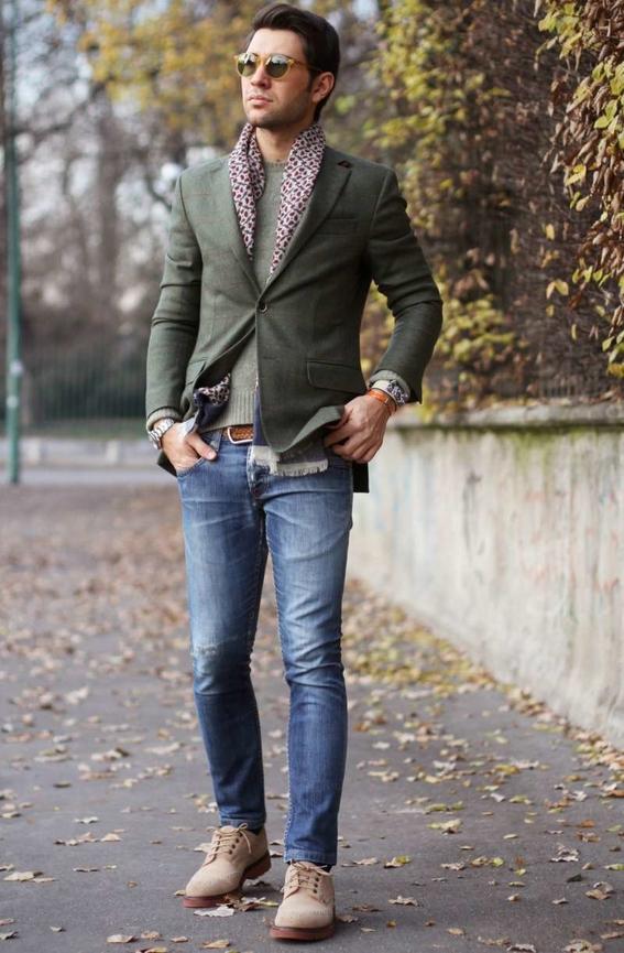 saco con jeans 1