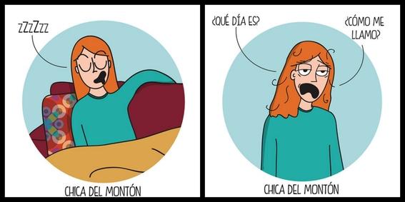 ilustraciones de chica del monton 5