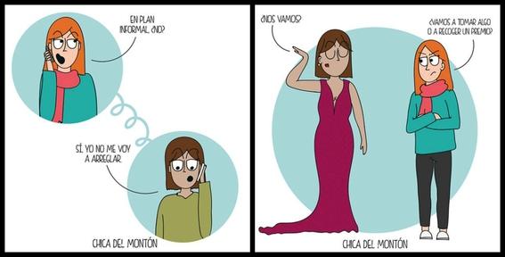 ilustraciones de chica del monton 9